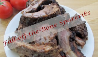 Fall-Off-The-Bone Spareribs with Rib Rub