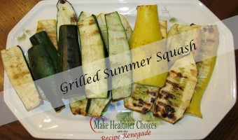 Grilled Summer Squash (Zucchini and Straight Neck)