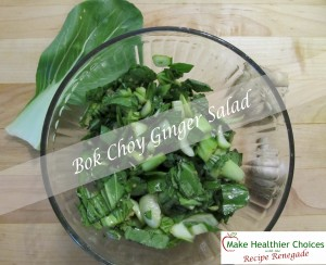 Bok Choy Salad Recipe Renegade