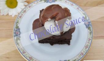 Chocolate Sauce – Gluten-Free