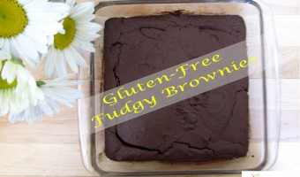 Brownies – Gluten-Free and Fudgy