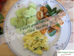 Sweet and Spicy Grilled Shrimp Recipe Renegade