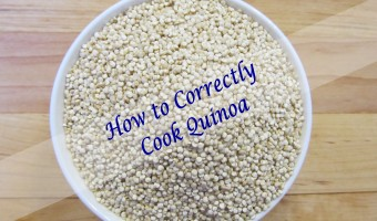 How to Correctly Cook Quinoa