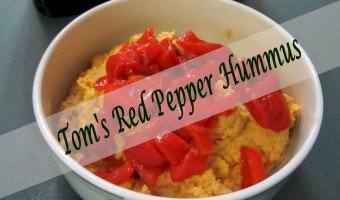 Tom's Red Pepper Hummus