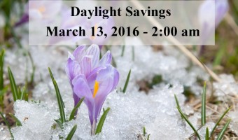 2016 Daylight Savings Time Ends US