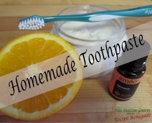 Reduced Orange Toothpaste Recipe Renegade